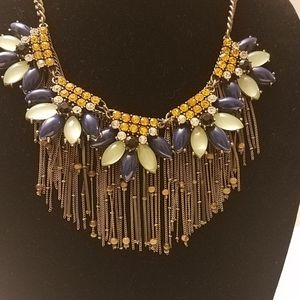 Jewelry - Statement Fringe Bib Necklace